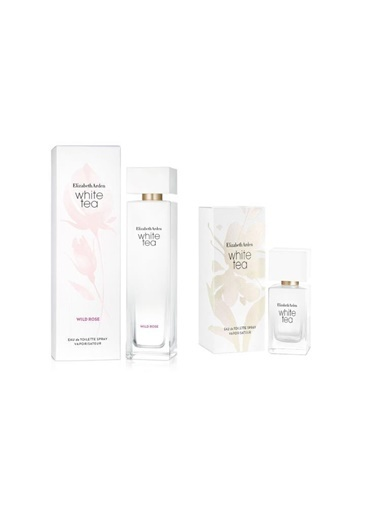 Elizabeth Arden Elizabeth Arden White Tea Wild Rose Edt Sprey 100 Ml+White Tea Edt 30 Ml Kadın Parfüm Renksiz
